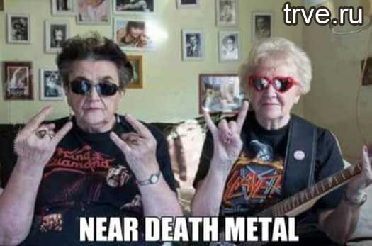 death metal for old